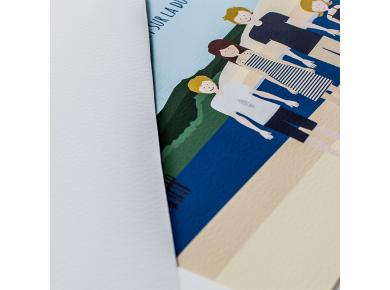 papier fine-art texturé 245 g/m2 de nos cadres personnalisés