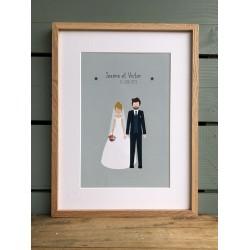 CADRE DECO MARIAGE